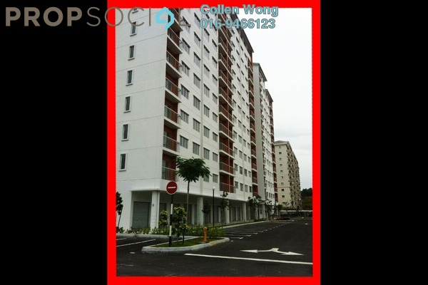 For Rent Condominium at Suria Permai, Bandar Putra Permai Leasehold Unfurnished 3R/2B 1.1k
