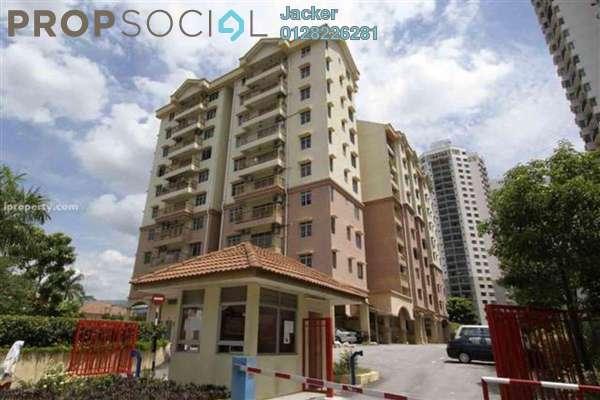 For Rent Condominium at Prima Ria, Dutamas Freehold Semi Furnished 3R/2B 1.95k