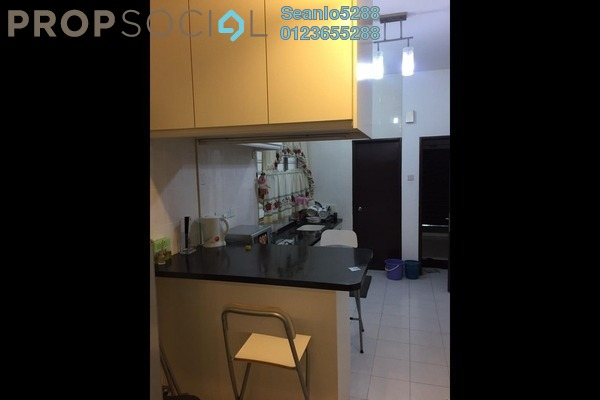 For Rent Serviced Residence at Casa Tiara, Subang Jaya Freehold Fully Furnished 0R/1B 1.7k