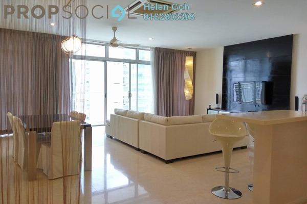 For Rent Condominium at Idaman Residence, KLCC Freehold Fully Furnished 3R/4B 4.9k