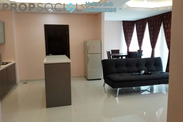 For Rent Serviced Residence at Regalia @ Jalan Sultan Ismail, Kuala Lumpur Freehold Fully Furnished 2R/2B 3.5k