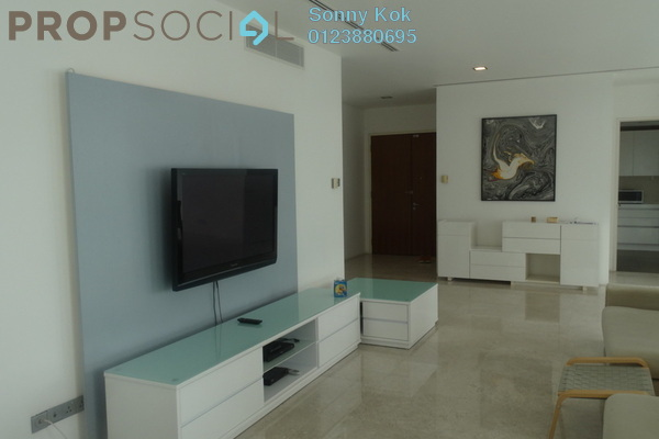 For Rent Condominium at K Residence, KLCC Freehold Fully Furnished 3R/4B 8k