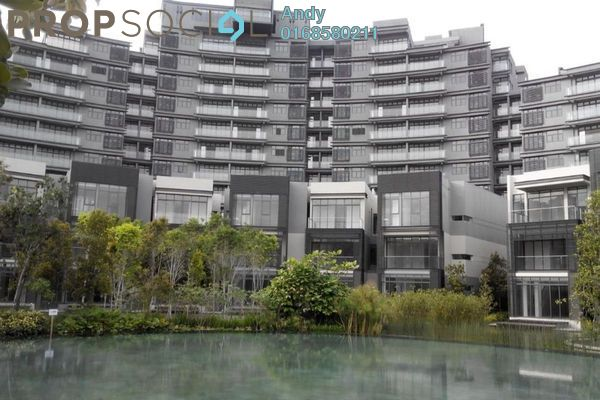 For Sale Condominium at Mirage By The Lake, Cyberjaya Freehold Semi Furnished 2R/2B 700k