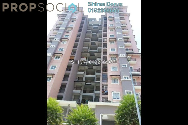 For Rent Condominium at Precinct 11, Putrajaya Freehold Unfurnished 3R/2B 1.6k