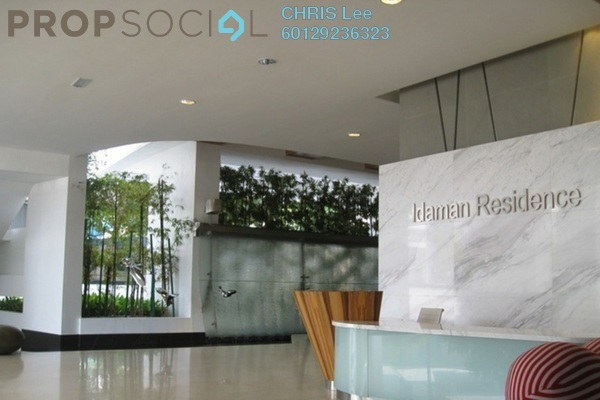 For Sale Condominium at Idaman Residence, KLCC Freehold Fully Furnished 3R/2B 1.81m