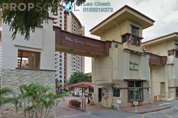 For Rent Condominium at Palm Spring, Kota Damansara Leasehold Fully Furnished 3R/2B 1.9k