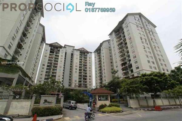 For Sale Condominium at Mentari Condominium, Bandar Sri Permaisuri Leasehold Unfurnished 3R/2B 410k