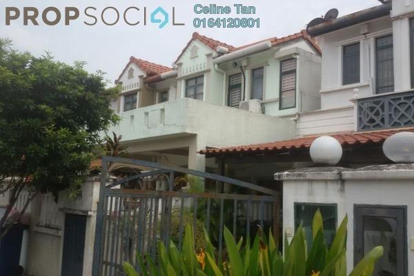 For Sale Terrace at Damai Puspa, Alam Damai Leasehold Semi Furnished 4R/4B 880k