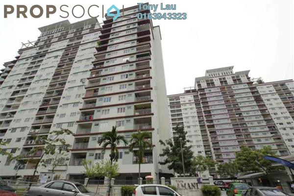 For Rent Condominium at Vista Amani, Bandar Sri Permaisuri Leasehold Semi Furnished 4R/2B 1.5k