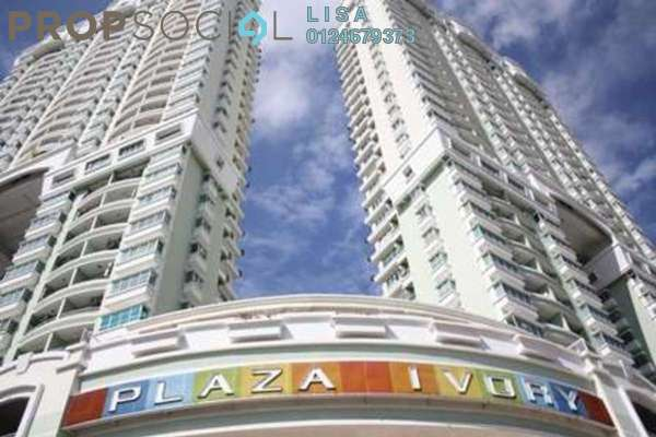 For Sale Condominium at Plaza Ivory, Bukit Gambier Freehold Unfurnished 3R/2B 648k