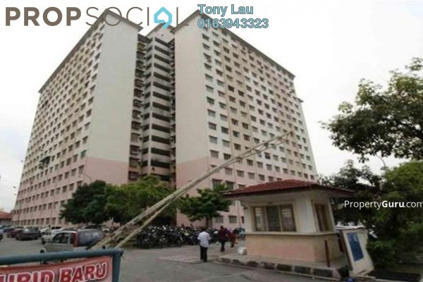 For Rent Apartment at Cendana Apartment, Bandar Sri Permaisuri Leasehold Semi Furnished 3R/2B 1.1k