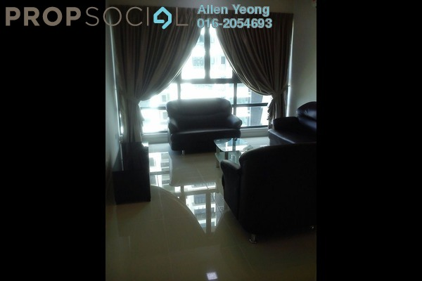 For Rent Condominium at KM1, Bukit Jalil Freehold Fully Furnished 4R/3B 3.5k