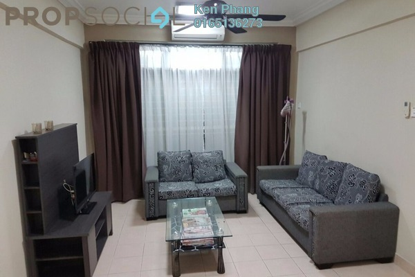For Rent Condominium at Vista Impiana Apartment, Seri Kembangan Leasehold Fully Furnished 3R/2B 1.5k