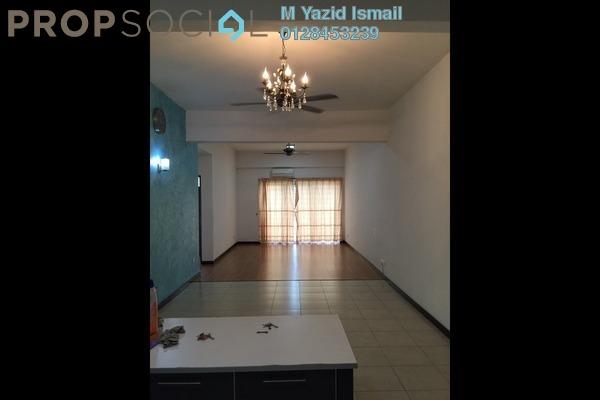 For Sale Condominium at Rosvilla, Segambut Freehold Semi Furnished 3R/2B 560k