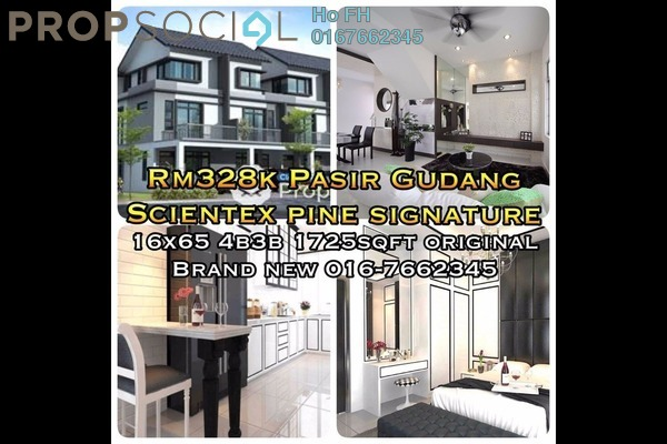 For Sale Terrace at Taman Scientex, Pasir Gudang Freehold Unfurnished 4R/3B 328k