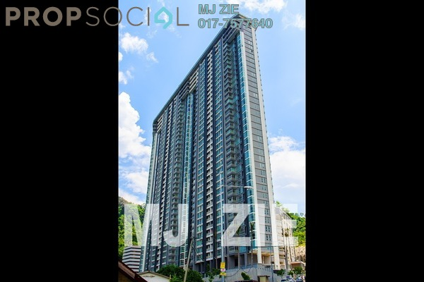 For Sale Condominium at The Peak Residences, Tanjung Tokong Freehold Unfurnished 5R/4B 1.4m