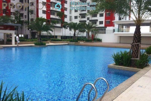 For Sale Condominium at Main Place Residence, UEP Subang Jaya Freehold Semi Furnished 3R/2B 650k