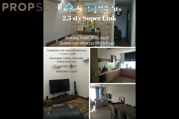For Sale Terrace at USJ Heights, UEP Subang Jaya Freehold Unfurnished 6R/2B 1.6m