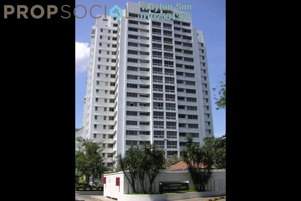 For Rent Condominium at OBD Garden Tower, Taman Desa Freehold Fully Furnished 3R/2B 3.5k