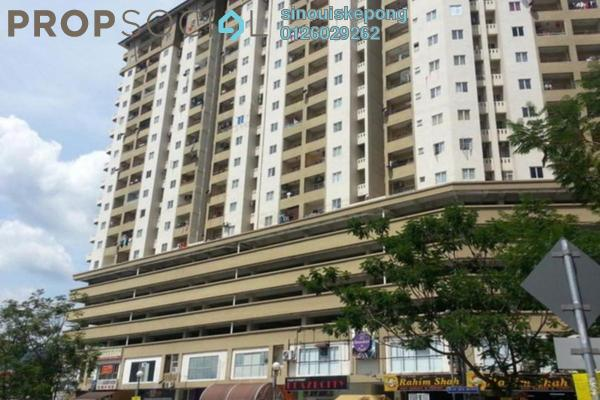 For Rent Condominium at Vista Mutiara, Kepong Freehold Fully Furnished 3R/2B 1.6k