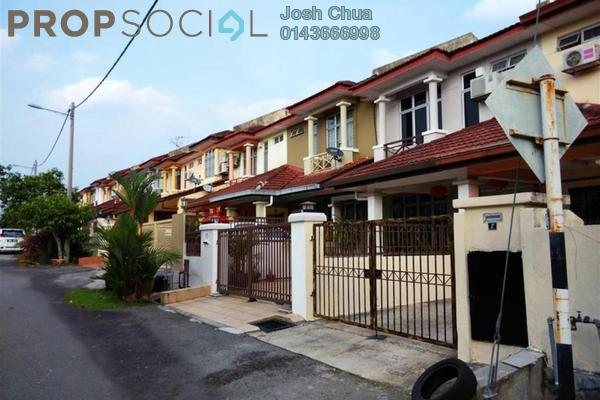 For Rent Terrace at Section 3, Bandar Mahkota Cheras Freehold Semi Furnished 4R/3B 1.5k