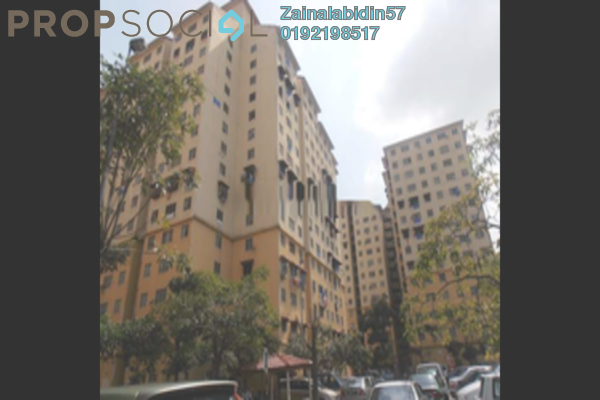 For Sale Apartment at Delima Apartment, Old Klang Road Leasehold Unfurnished 3R/2B 165k