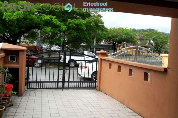 For Sale Terrace at Taman Len Seng, Cheras Freehold Semi Furnished 3R/2B 450k