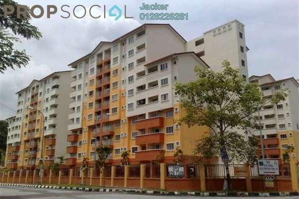 For Rent Apartment at Serdang Villa Apartment, Seri Kembangan Freehold Semi Furnished 3R/2B 1.1k