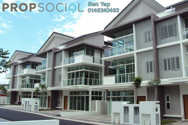 For Sale Semi-Detached at Palm Reserve, Damansara Jaya Freehold Fully Furnished 4R/5B 2.3百万