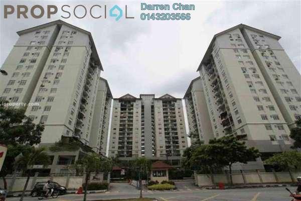 For Rent Condominium at Mentari Condominium, Bandar Sri Permaisuri Leasehold Semi Furnished 3R/2B 1.2k