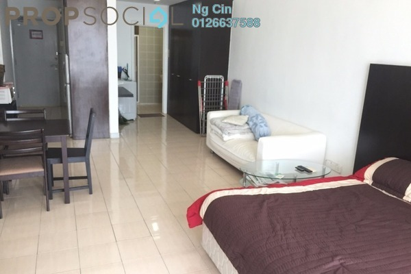 For Rent Serviced Residence at Amcorp Serviced Suites, Petaling Jaya Leasehold Fully Furnished 0R/1B 3k