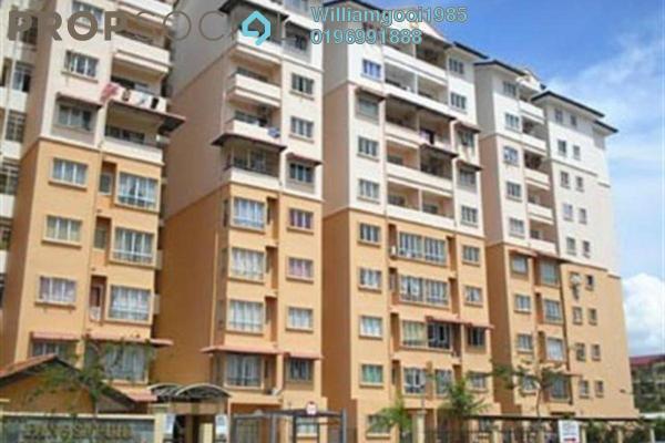 For Sale Apartment at Delima Intan Apartment, Juru Freehold Semi Furnished 3R/2B 210k