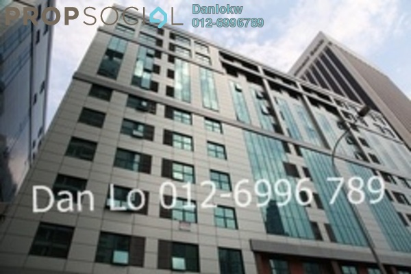 For Rent Office at Megan Avenue 1, KLCC Freehold Semi Furnished 3R/2B 3k
