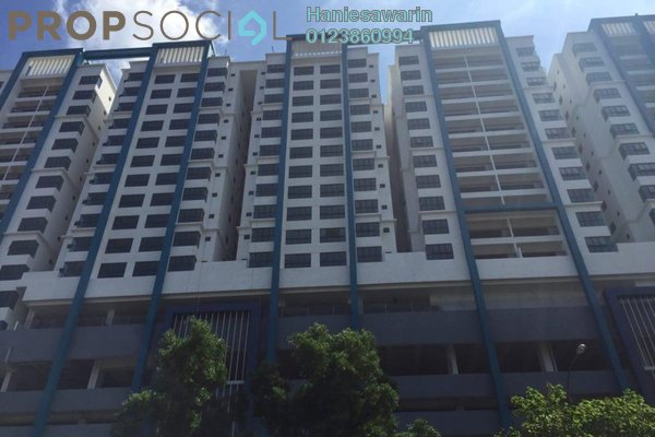For Sale Condominium at Metia Residence, Shah Alam Leasehold Unfurnished 3R/2B 500k