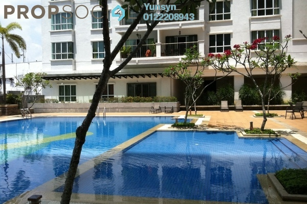 For Sale Condominium at Ken Damansara II, Petaling Jaya Freehold Semi Furnished 3R/3B 950k