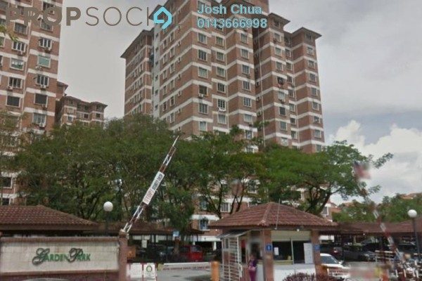 For Rent Condominium at Garden Park, Bandar Sungai Long Freehold Unfurnished 3R/2B 900translationmissing:en.pricing.unit