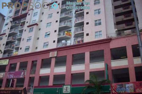 For Sale Apartment at Casa Magna, Kepong Freehold Unfurnished 3R/2B 340k