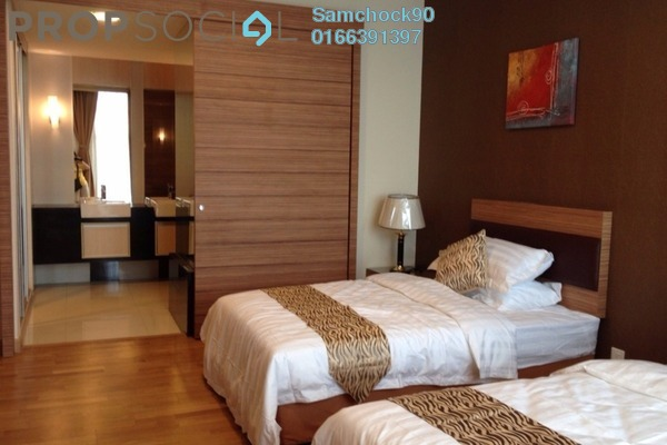 For Rent Condominium at Dua Sentral, Brickfields Freehold Fully Furnished 2R/2B 2.8k