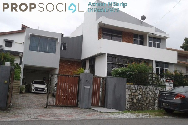 For Sale Bungalow at Section 22, Petaling Jaya Freehold Semi Furnished 5R/5B 2.4m