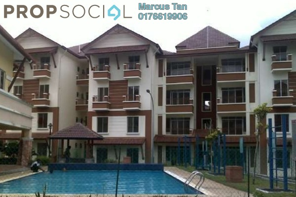 For Sale Apartment at Andari Townvilla, Selayang Heights Freehold Unfurnished 3R/2B 380.0千