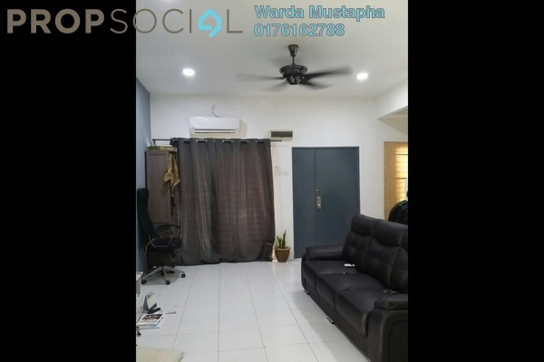For Sale Terrace at Taman Alam Indah, Shah Alam Freehold Semi Furnished 4R/3B 750k