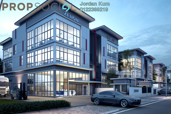 For Sale Factory at Sekitar 26, Shah Alam Freehold Unfurnished 3R/2B 5.42m