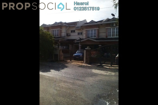 For Sale Terrace at Antara Gapi, Serendah Freehold Semi Furnished 4R/3B 350k