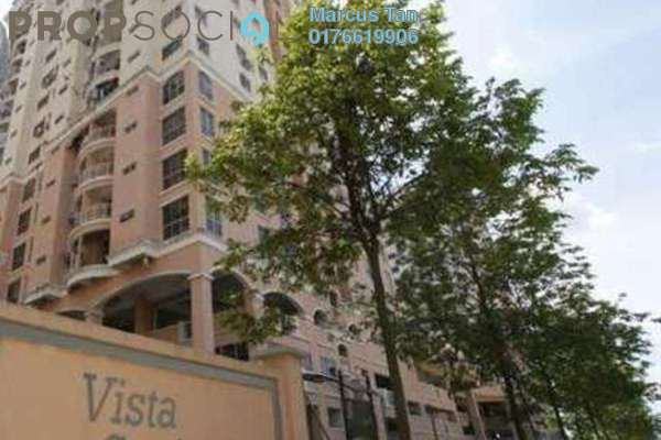 For Sale Condominium at Vista Saujana, Kepong Freehold Semi Furnished 3R/2B 340k