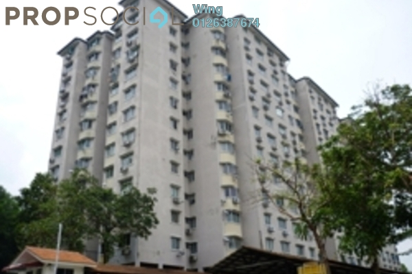 For Rent Apartment at Aman Puri, Kepong Freehold Semi Furnished 3R/2B 900translationmissing:en.pricing.unit