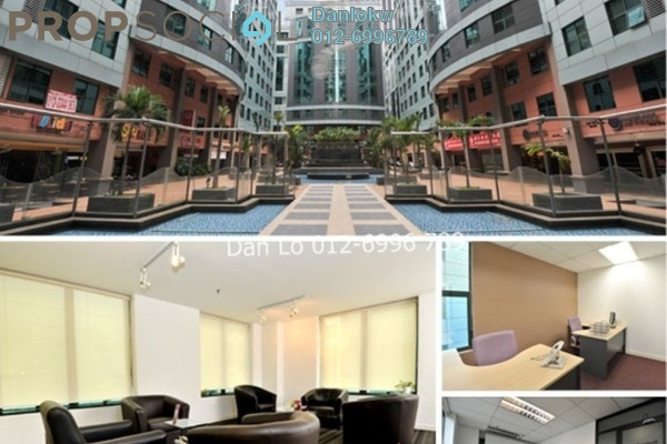 For Rent Office at Megan Avenue 1, KLCC Freehold Semi Furnished 3R/2B 7.5k