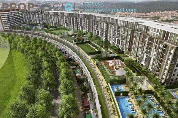 For Sale Serviced Residence at Radia Residences, Bukit Jelutong Freehold Semi Furnished 2R/2B 656k