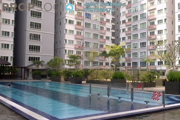 For Sale Condominium at Banjaria Court, Batu Caves Freehold Semi Furnished 3R/2B 395k
