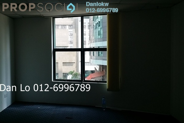 For Sale Office at Megan Avenue 1, KLCC Freehold Semi Furnished 3R/2B 1.21m
