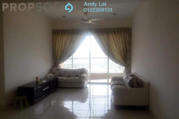 For Rent Condominium at Greenview Residence, Bandar Sungai Long Freehold Semi Furnished 3R/2B 1.6k